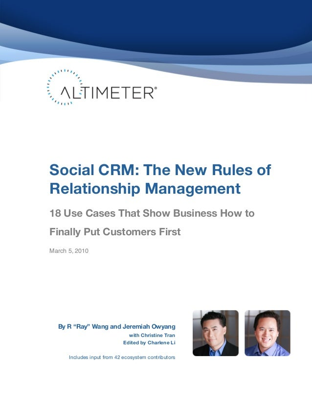 Socialcrmthenewrulesofrelationshipmanagement 100304181215-phpapp02