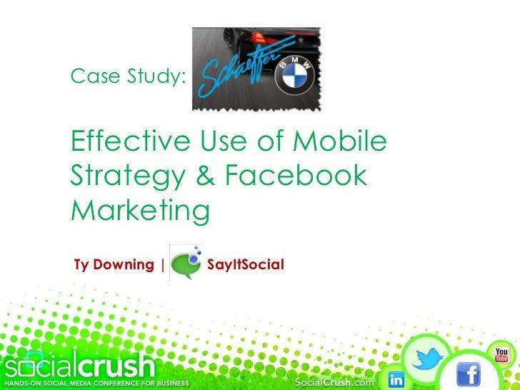 SocialCrush Schaeffer BMW Case Study