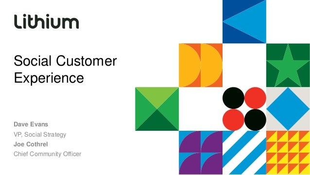 Social Customer Experience - SXSWi 2014