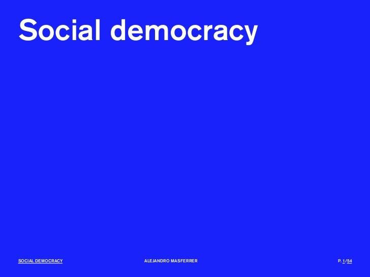 Socialdemocracy