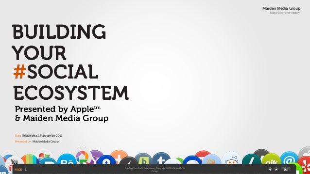 Building your Social Ecosystem: Amol Waishampayan