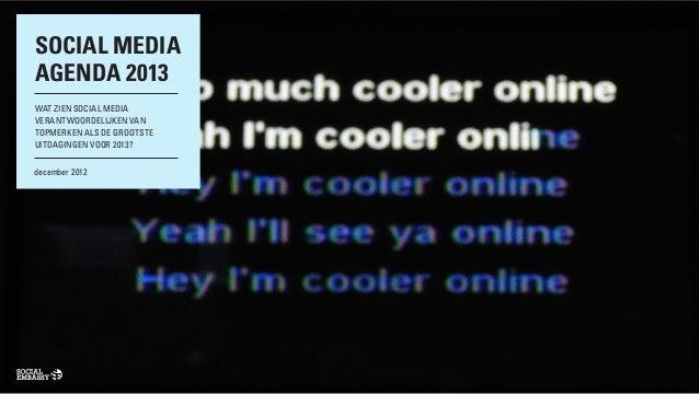 Social embassy   social media agenda 2013 def