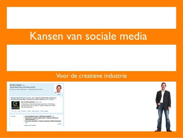 Sociale media & creatieve industrie