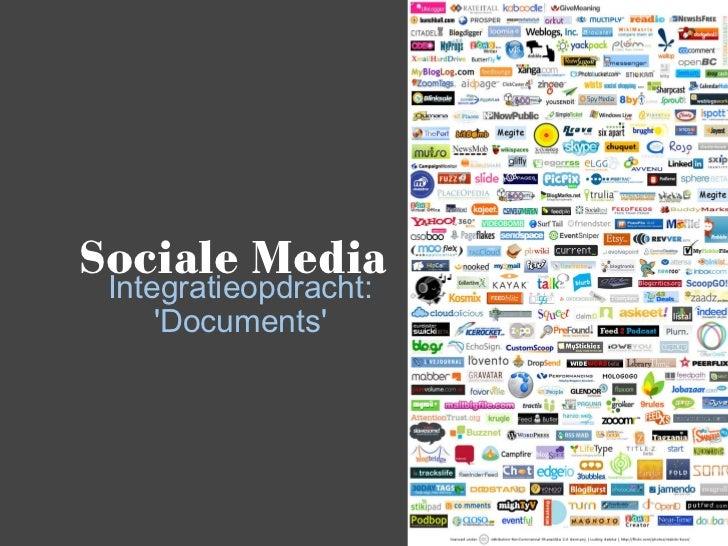 Sociale Media Integratieopdracht: 'Documents'
