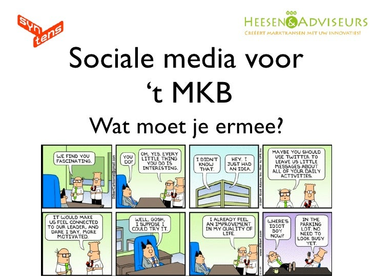 Sociale Media voor het MKB