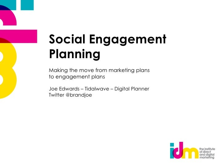 Social engagement planning