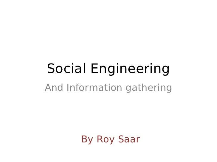Social engineering - DC9723