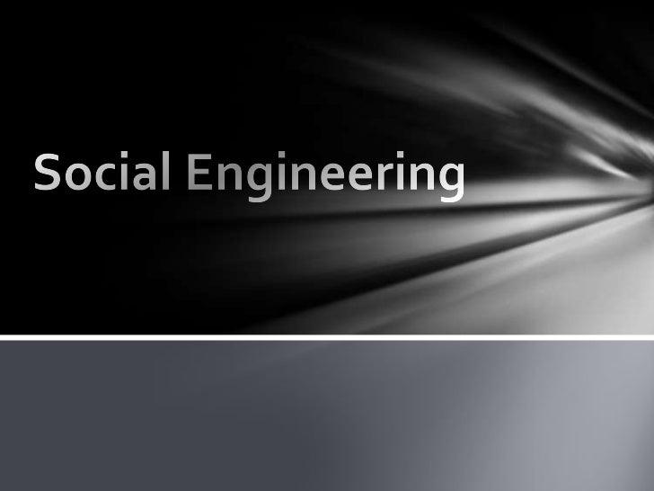 Social Engineering : To Err is Human...