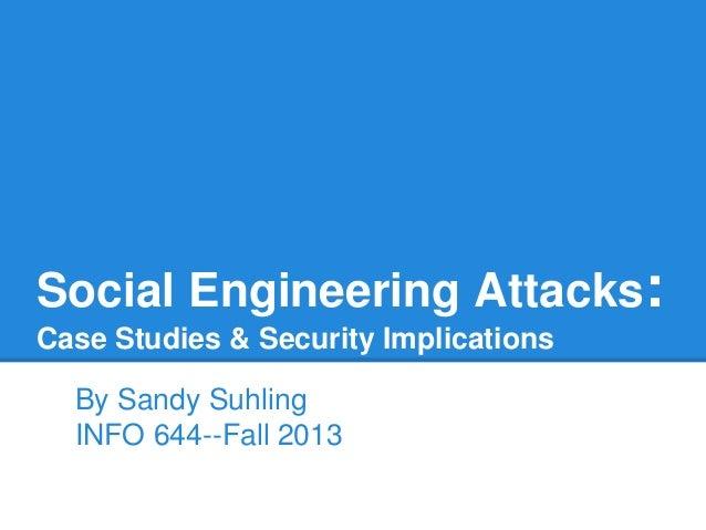 Social engineering-Sandy Suhling