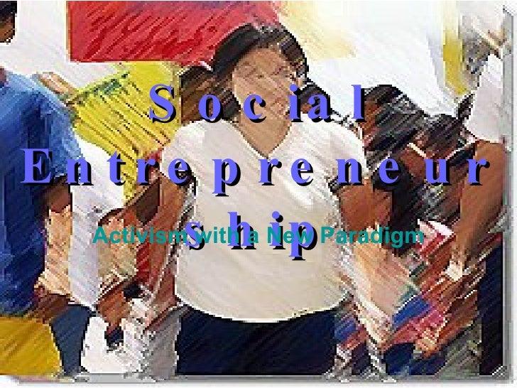 Social Entrepreneurship and Political Leadership