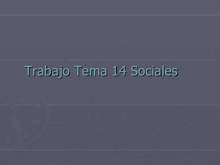 Sociales tema 14