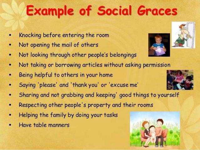 Social Etiquette Sree