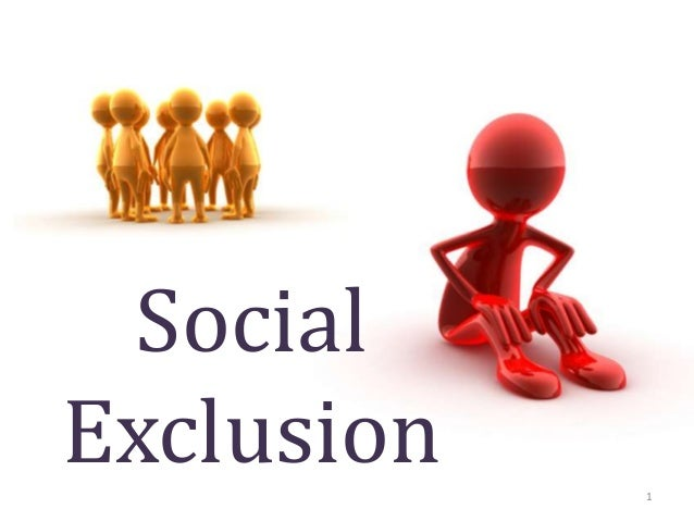 Image result for social exclusion
