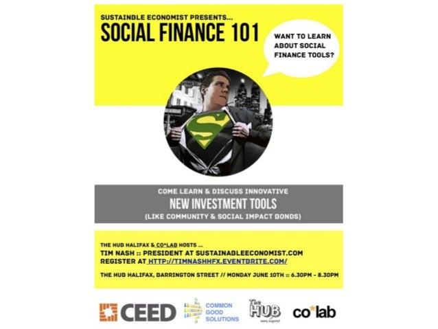 Agenda-Introduction-Crowdfunding-Community Bonds-Microloans-Social Impact Bonds-Social Enterprise-CEDIFs