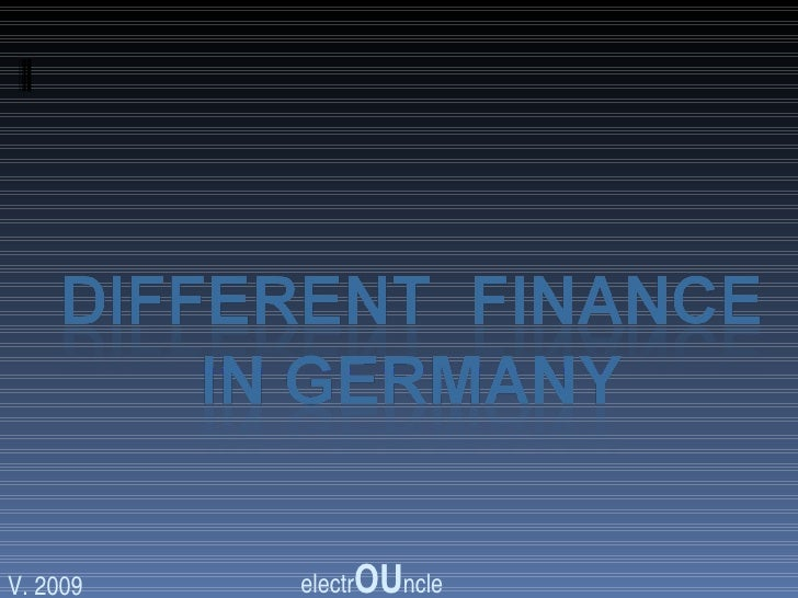 Social Financein Germany