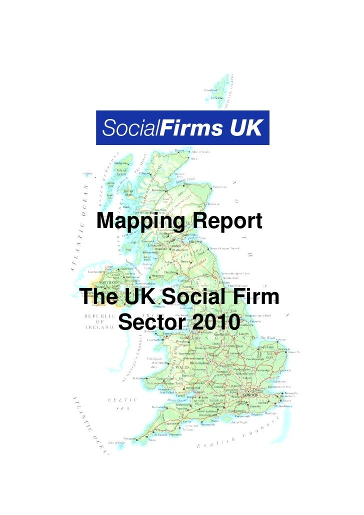 Social Firm Sector Mapping 2010