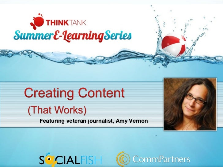 Creating Content (That Works)