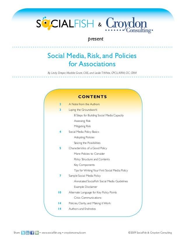 &                                                    present               Social Media, Risk, and Policies               ...