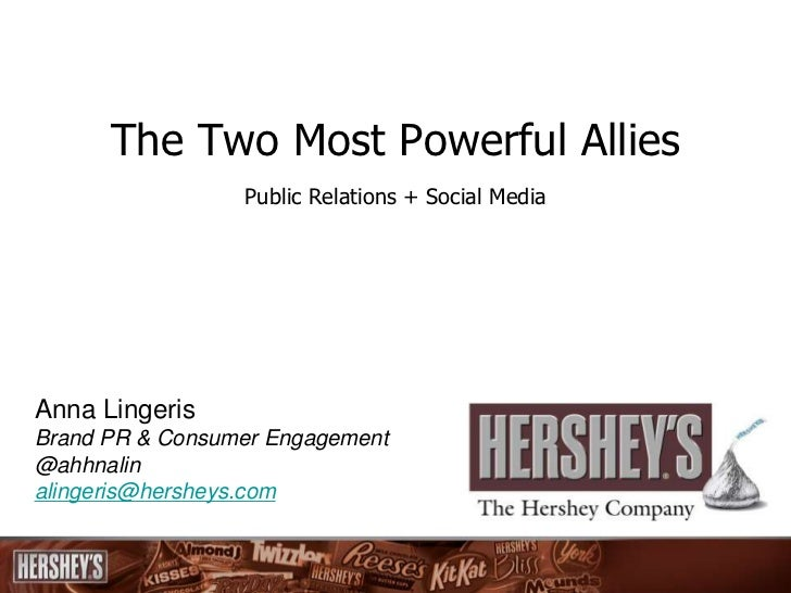 The Two Most Powerful Allies                 Public Relations + Social MediaAnna LingerisBrand PR & Consumer Engagement@ah...