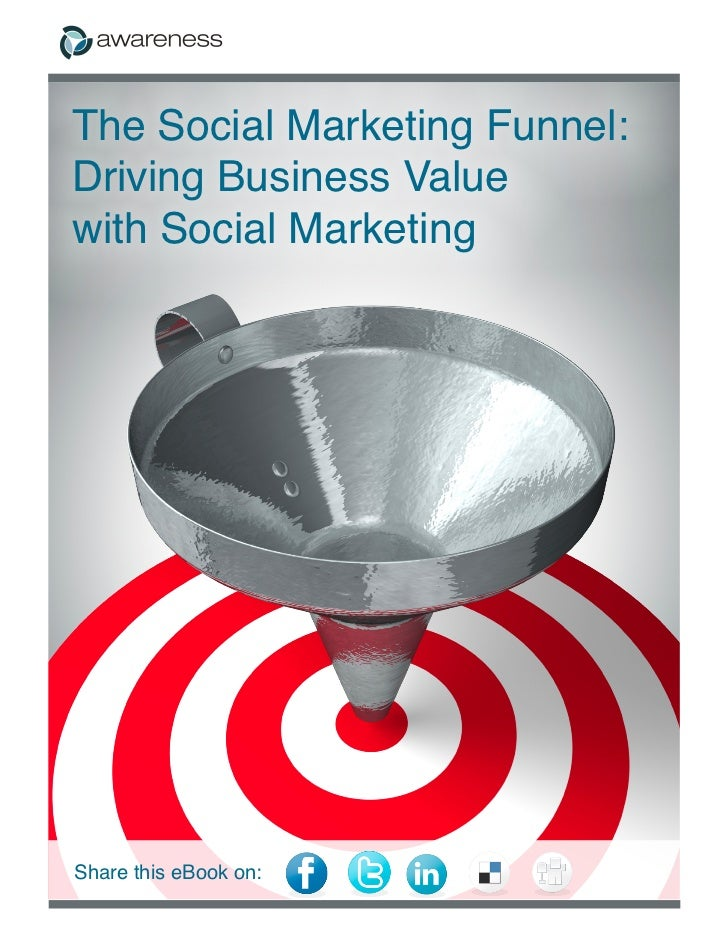 The Social Marketing Funnel:Driving Business Valuewith Social MarketingShare this eBook on: