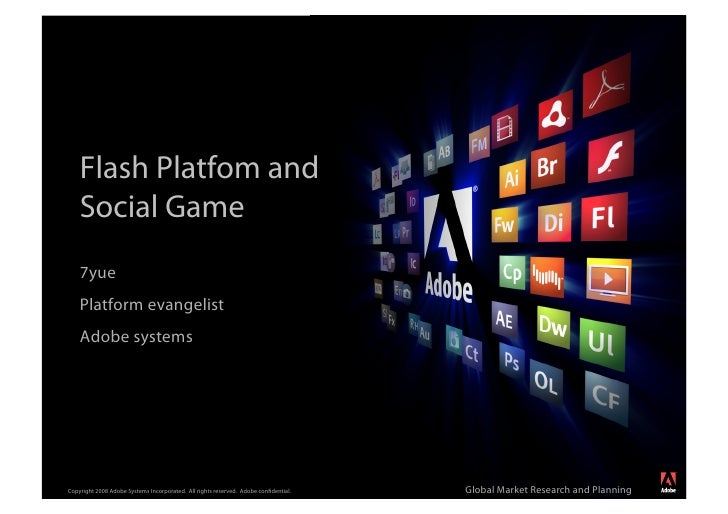 Flash Platfom and     Social Game                                                                                         ...