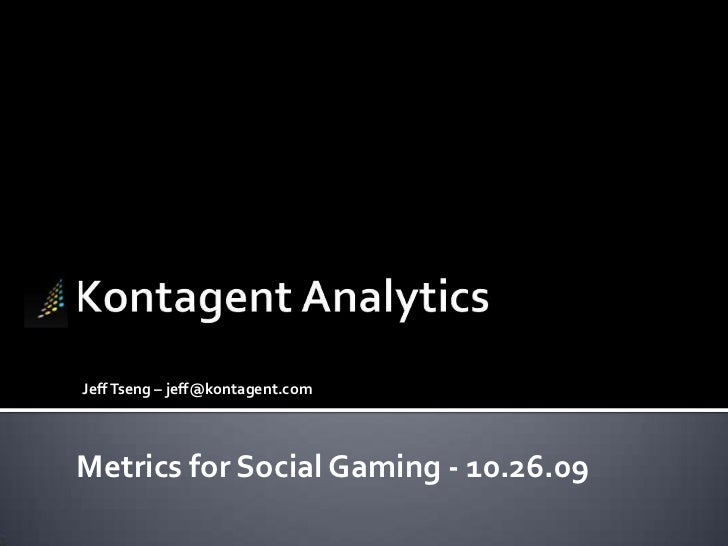 Top 10 Social Gaming Metrics