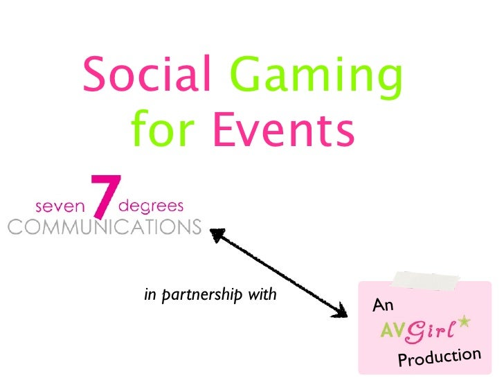 Social Gaming for Events