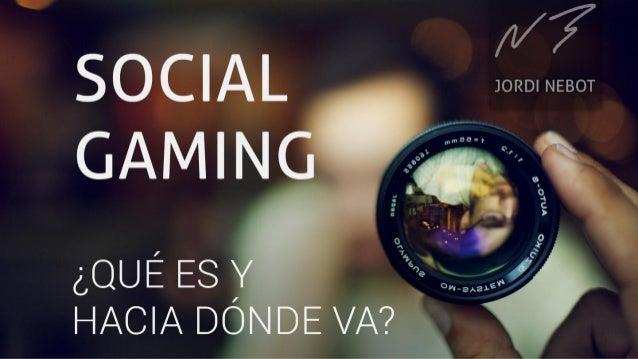 Social Gaming | Jordi Nebot | Playerset