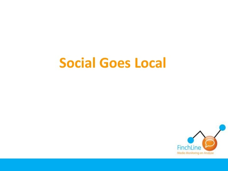 Social Goes Local<br />