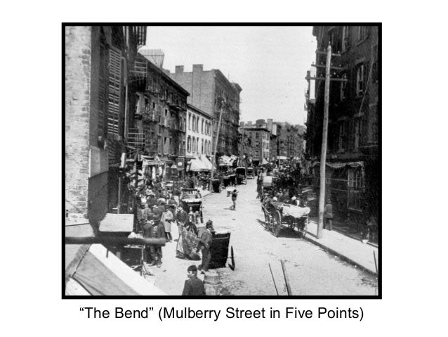 """""""The Bend"""" (Mulberry Street in Five Points)"""