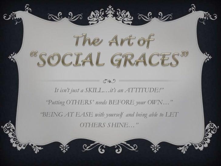 Socialgraces