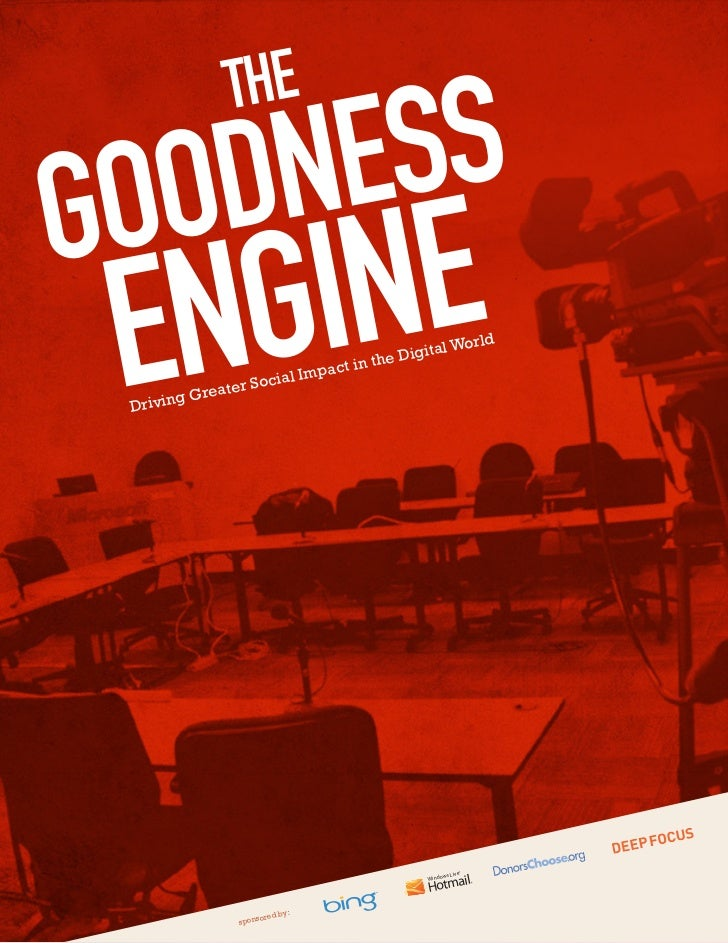 The Goodness Engine