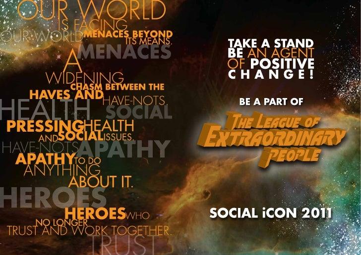 Social Icon 2011 Brochure