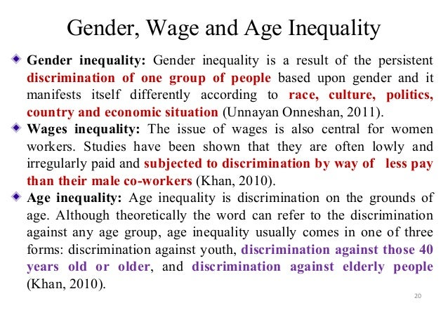 Racism and social inequality essays
