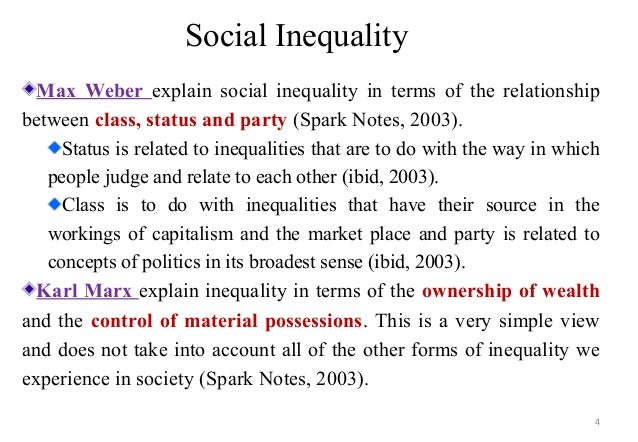 Social class in gender inequality