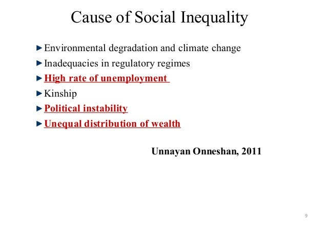 social inequality in the modern era Funded since 2004 with £3 million from the economic and social research council gender equality in modern times gender inequality network sociology people.