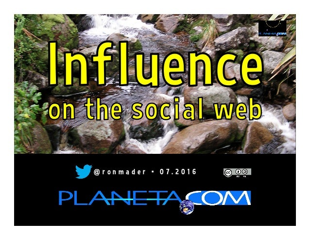 Influence on the Social Web