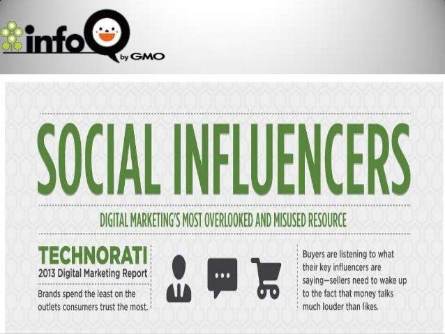 Social influencers, internet marketing tool