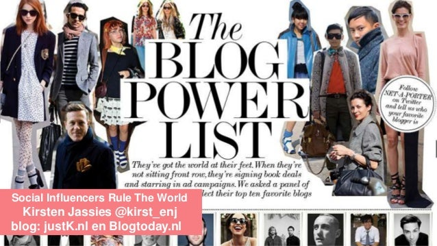 Social influencers in Fashion - Modefabriek zomer 2014