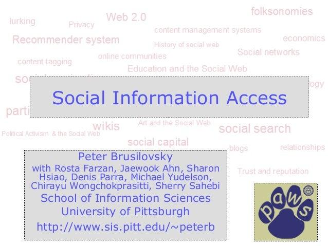 Social information Access2012
