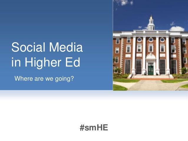 #SXSWedu Panel: Social in Higher Ed