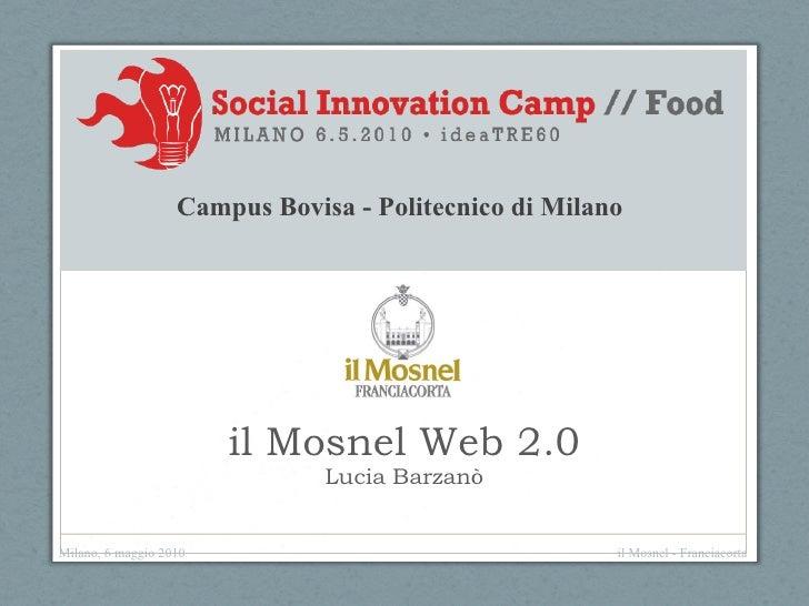 Social innovation camp   lucia barzanò, 6 maggio 2010