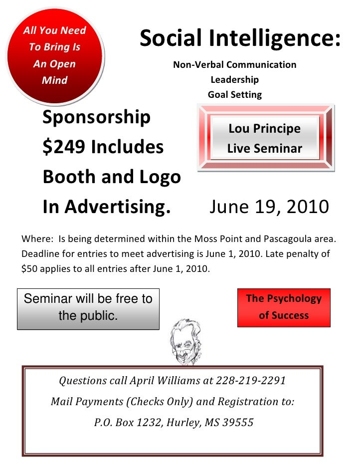 Social intelligence sponsorship