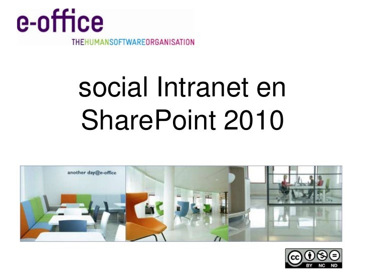 social intranet SharePoint 2010