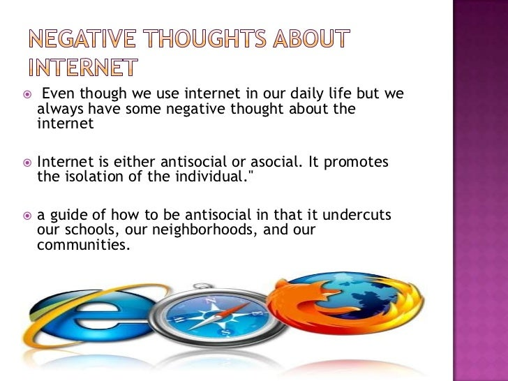 use misuse of internet