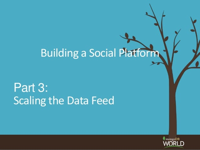 Socialite, the Open Source Status Feed Part 3: Scaling the Data Feed