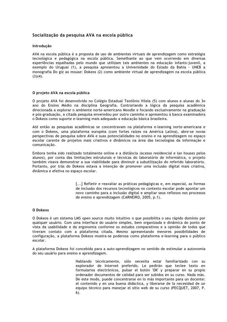 Socialização ava na_escola_pública
