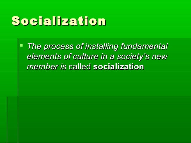sociology socialization process Socialization in psychology, sociology, and anthropology in general, these  changes involve more of a focus on children's agency in the socialization process ,.
