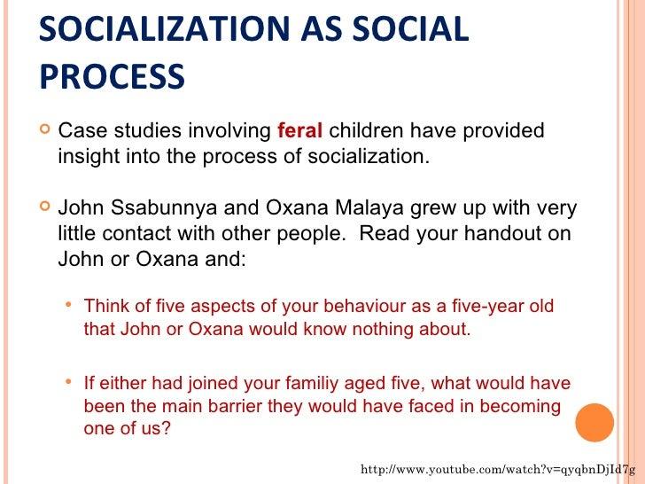 Sociology case study