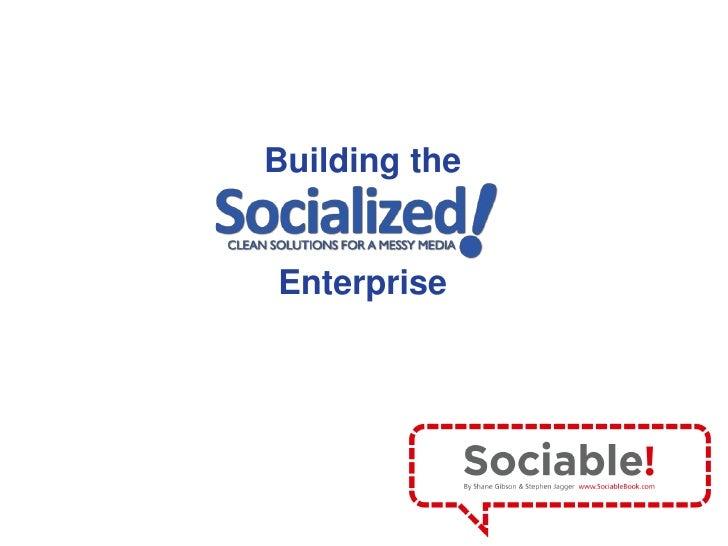 Building the <br />Enterprise<br />